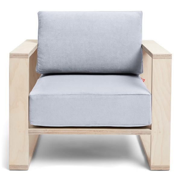 Franklin+ Emily Chair Birch Cadet Grey