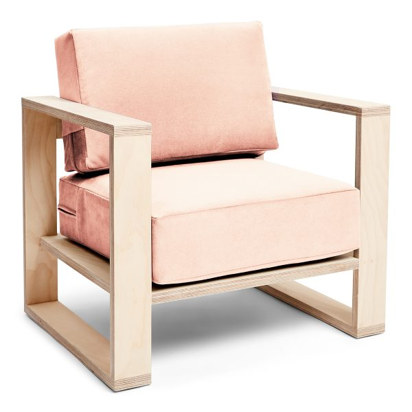 Franklin+ Emily Chair Birch Champagne