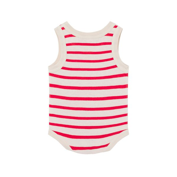Animals Observatory SS20 Turtle Baby Body Red Stripes