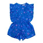 Coco Ginger Delphine Playsuit Sappire Dahlia