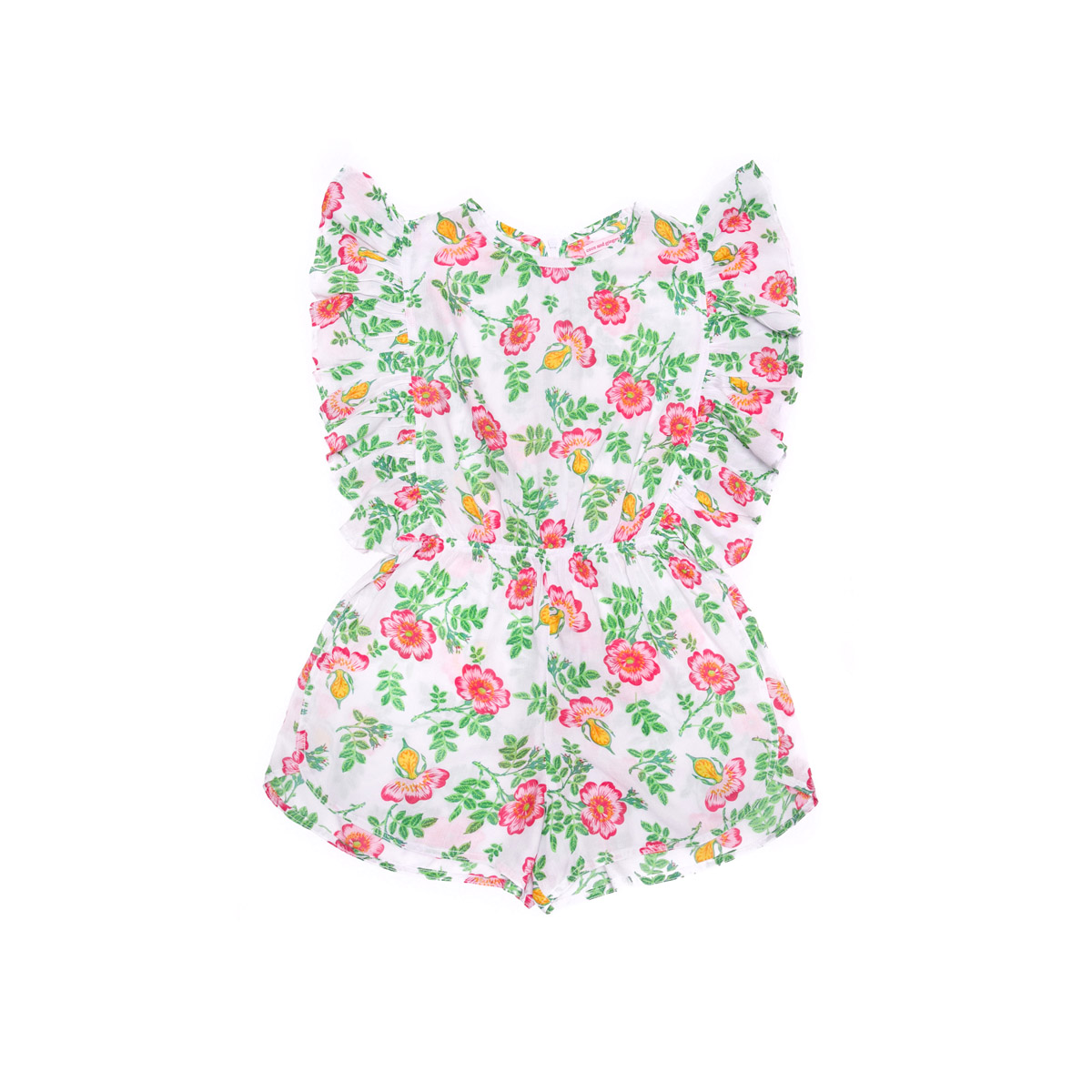 Coco & Ginger Delphine Playsuit in Stone Dogwood Rose