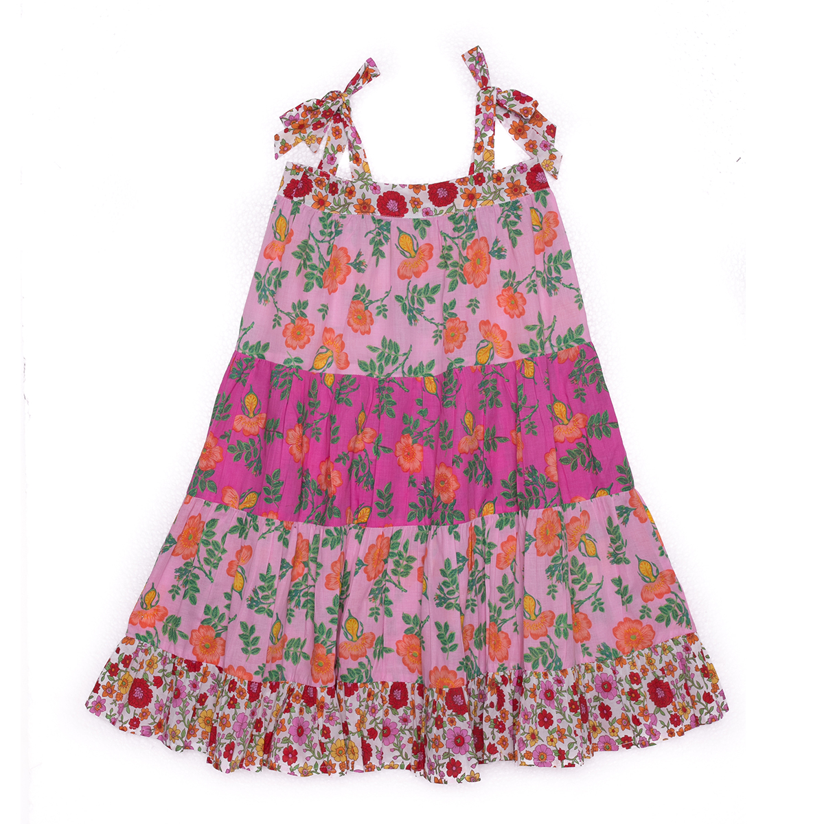 Coco Ginger SS20 April Dress Pink Dogwood