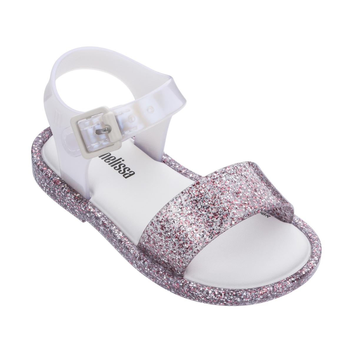 Mini Melissa Mar Sandal IV Bb in Glitter