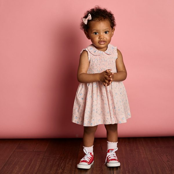Question Everything Baby/Toddler Paris Sleeveless Dress & Bloomer