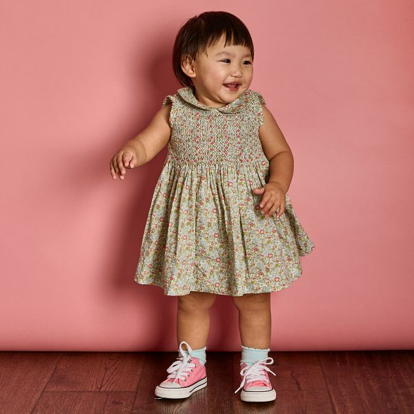 Question Everything Baby/Toddler Freya Sleeveless Dress & Bloomer