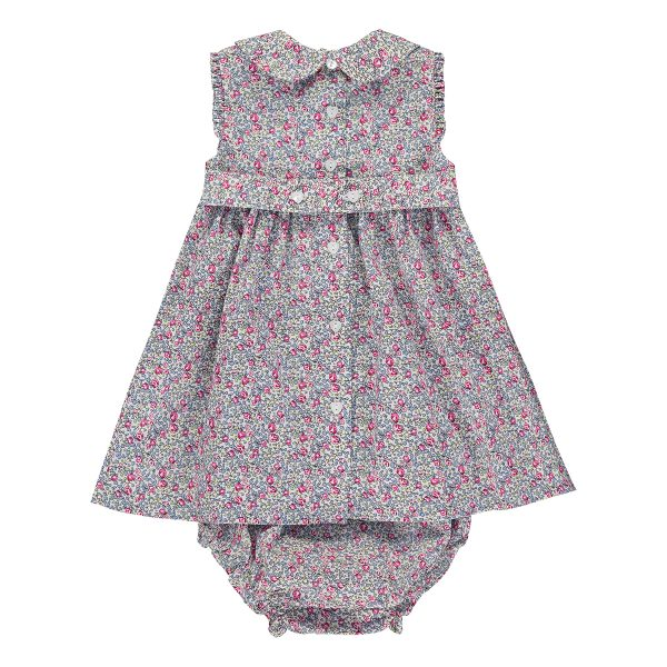 Question Everything Baby/Toddler Luciana Sleeveless Dress & Bloomer