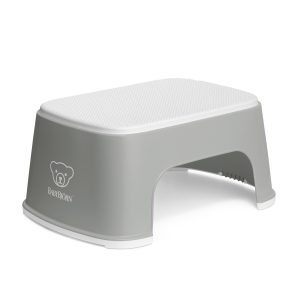 Baby Bjorn Step Stool Grey White