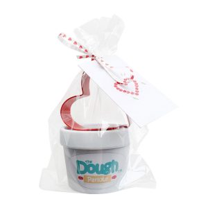Dough Parlour Valentines Set wrapped up with card