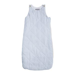 Louelle Sleeping Bag- Pale Blue Gingham