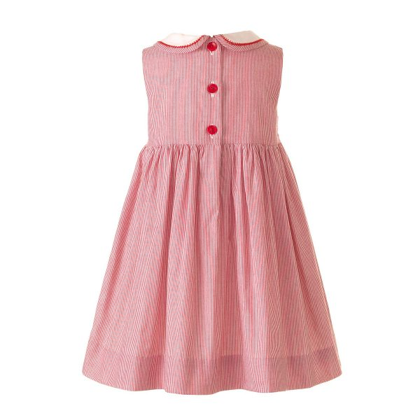 Rachel Riley Baby/Toddler/Big Kid Cherry Smocked Dress