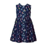 Rachel Riley Baby/Toddler/Big Kid Sailboat Button Front Dress