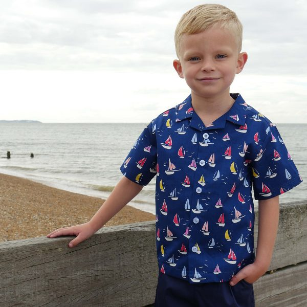 Rachel Riley Toddler/Big Kid Sailboat Shirt