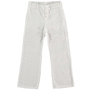 Tocotó Vintage Swiss Embroidered Flared Trousers
