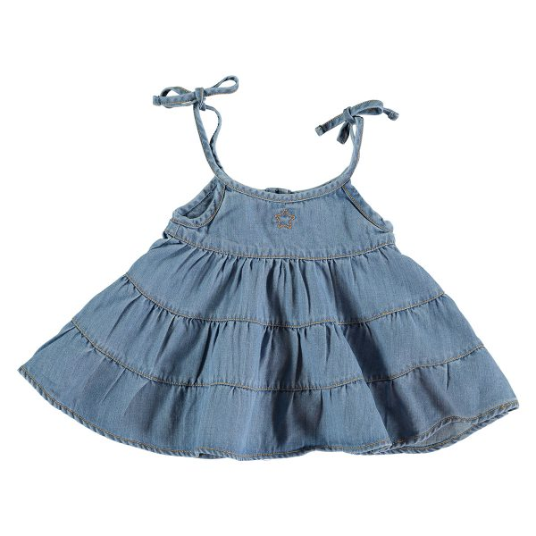 Tocotó Vintage Light Denim Baby Dress