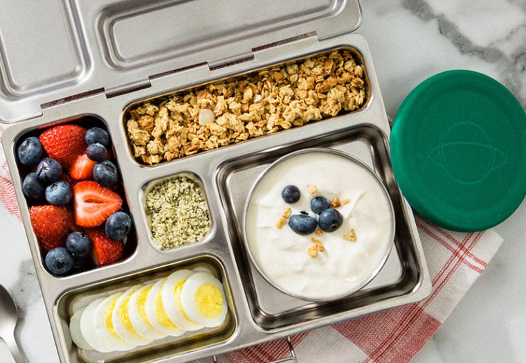 PlanetBox Lunchbox with kids lunch