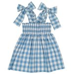 Sal & Pimenta Toddler/Big Kid Azulejo Dress