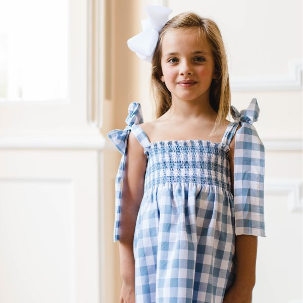 SalPimentaSS20AzulejoDressLifestyleSal & Pimenta Toddler/Big Kid Azulejo Dress