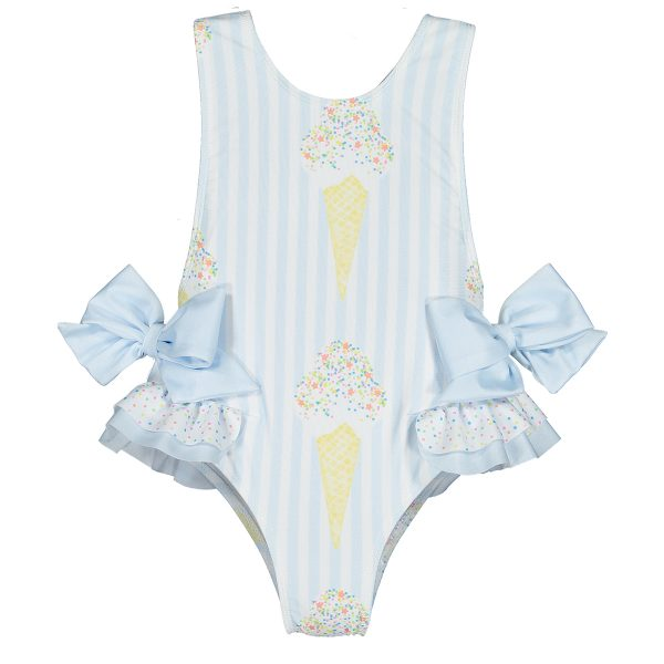 Sal & Pimenta Toddler/Big Kid Sprinkle It Swimsuit