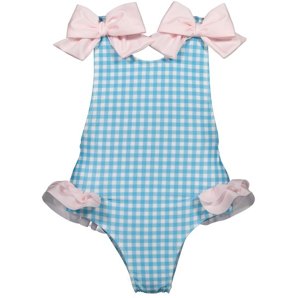 Sal & Pimenta Baby/Toddler/Big Kid Squared Up Swimsuit