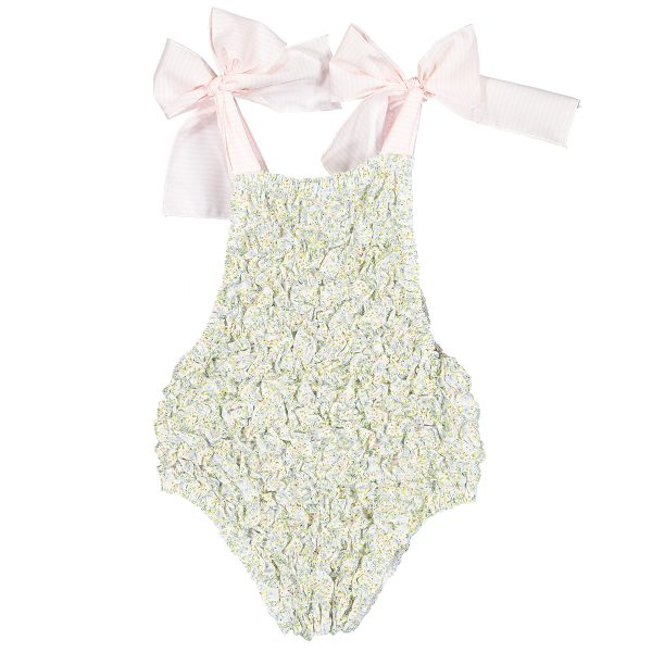 Sal & Pimenta Baby/Toddler/Big Kid Alfacinha Frilled Swimsuit