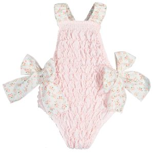 Sal & Pimenta Baby/Toddler/Big Kid Santo António Frilled Swimsuit