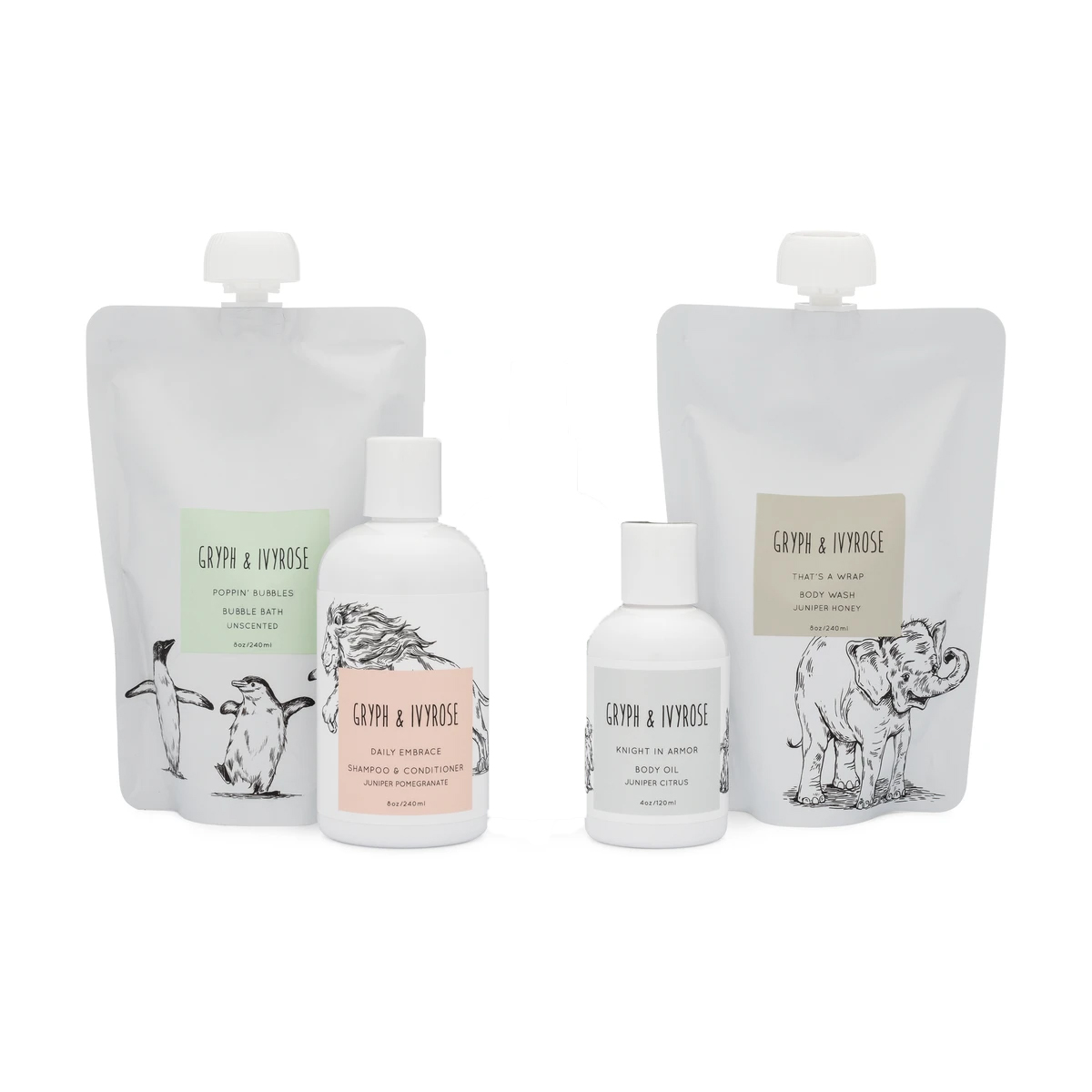 Gryph & Ivyrose Bath Set
