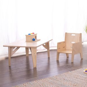 Sprout ADJUSTABLE MONTESSORI WEANING CHAIR & TABLE SET