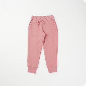 HART + LAND organic cotton girl's solid jogger