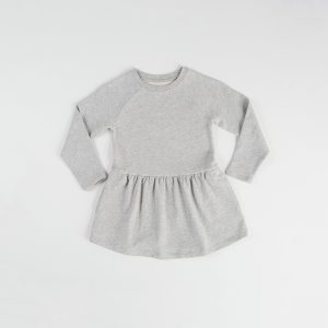 HART + LAND Organic cotton kids long sleeve dress