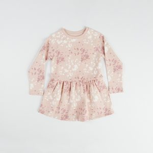 HART + LAND organic cotton kids dress - splatter