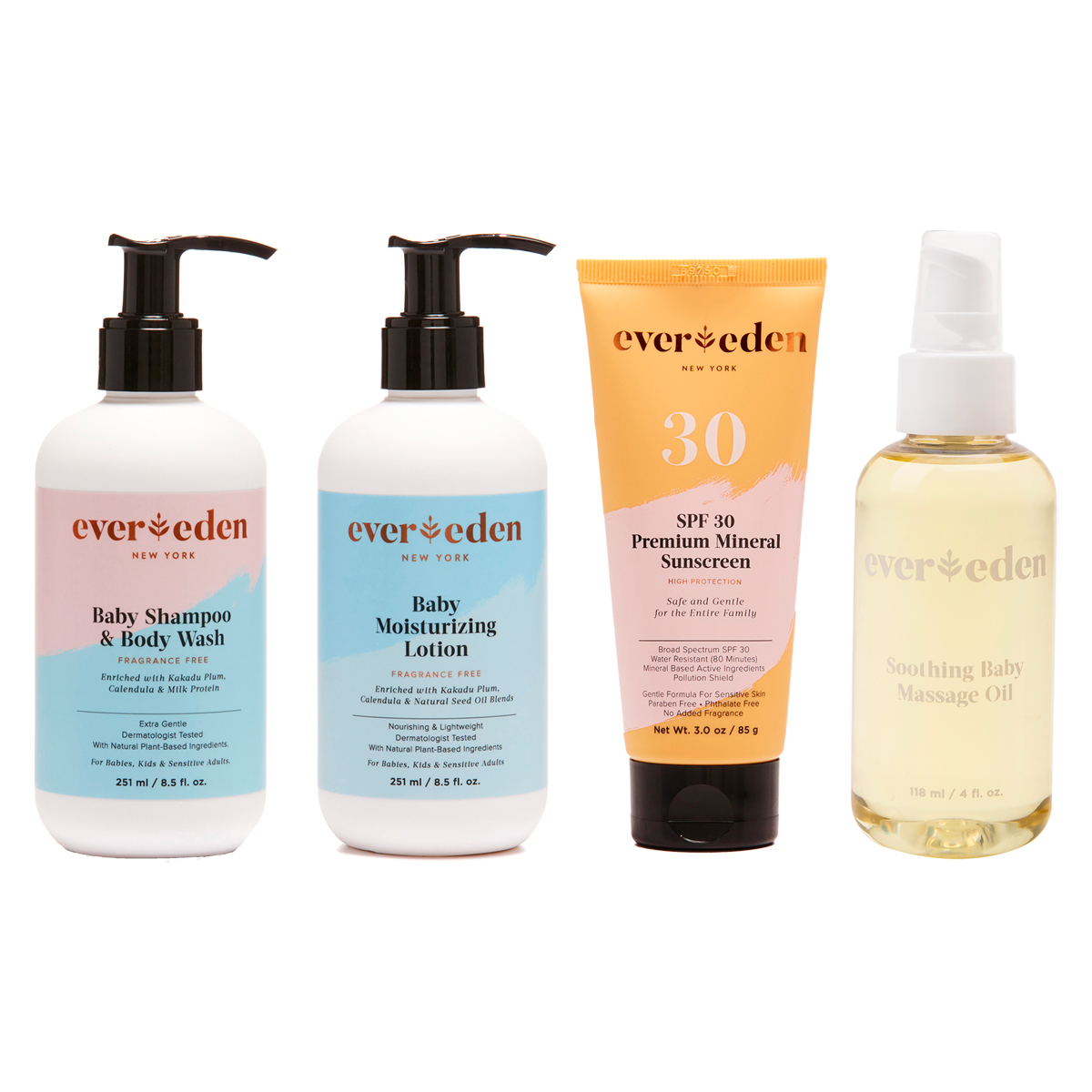 Evereden Essentials Collection