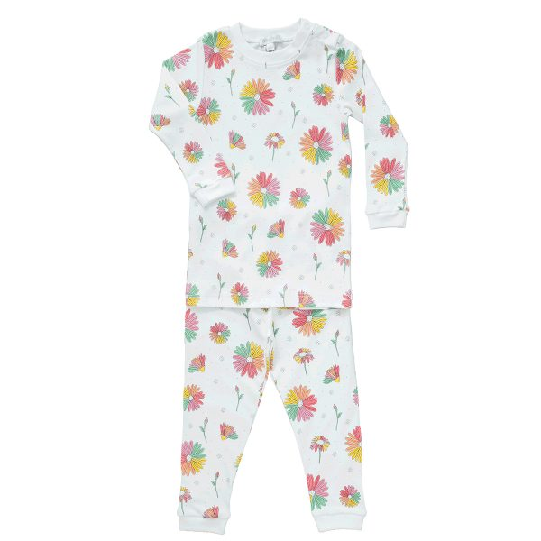 Baby Noomie Two Piece PJ – Daisies