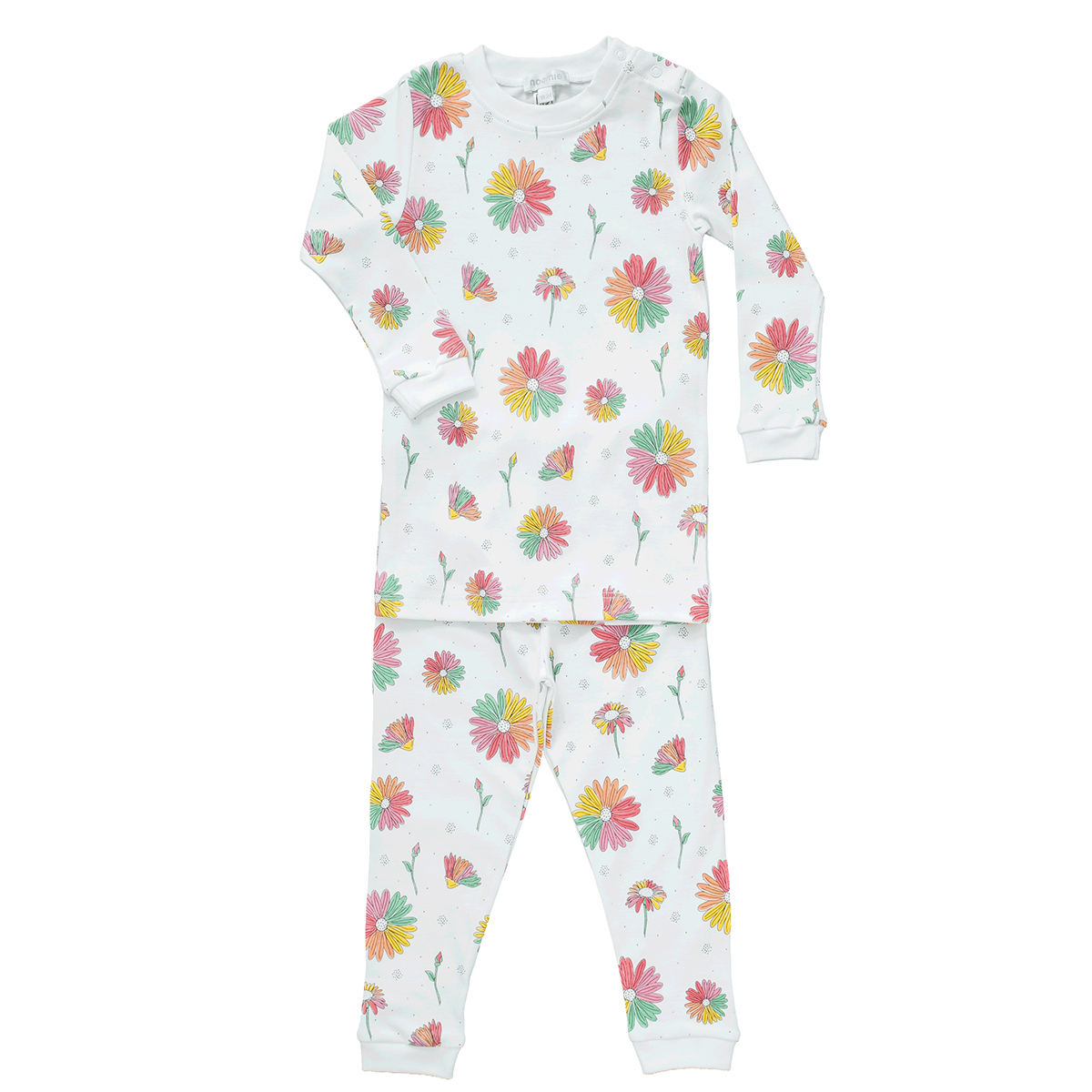 Baby Noomie Two Piece PJ - Daisies
