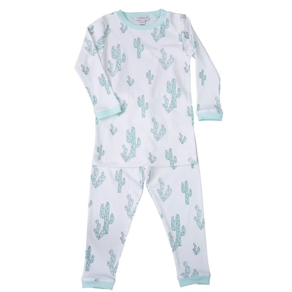 Baby Noomie Two Piece PJ – Green Cactus
