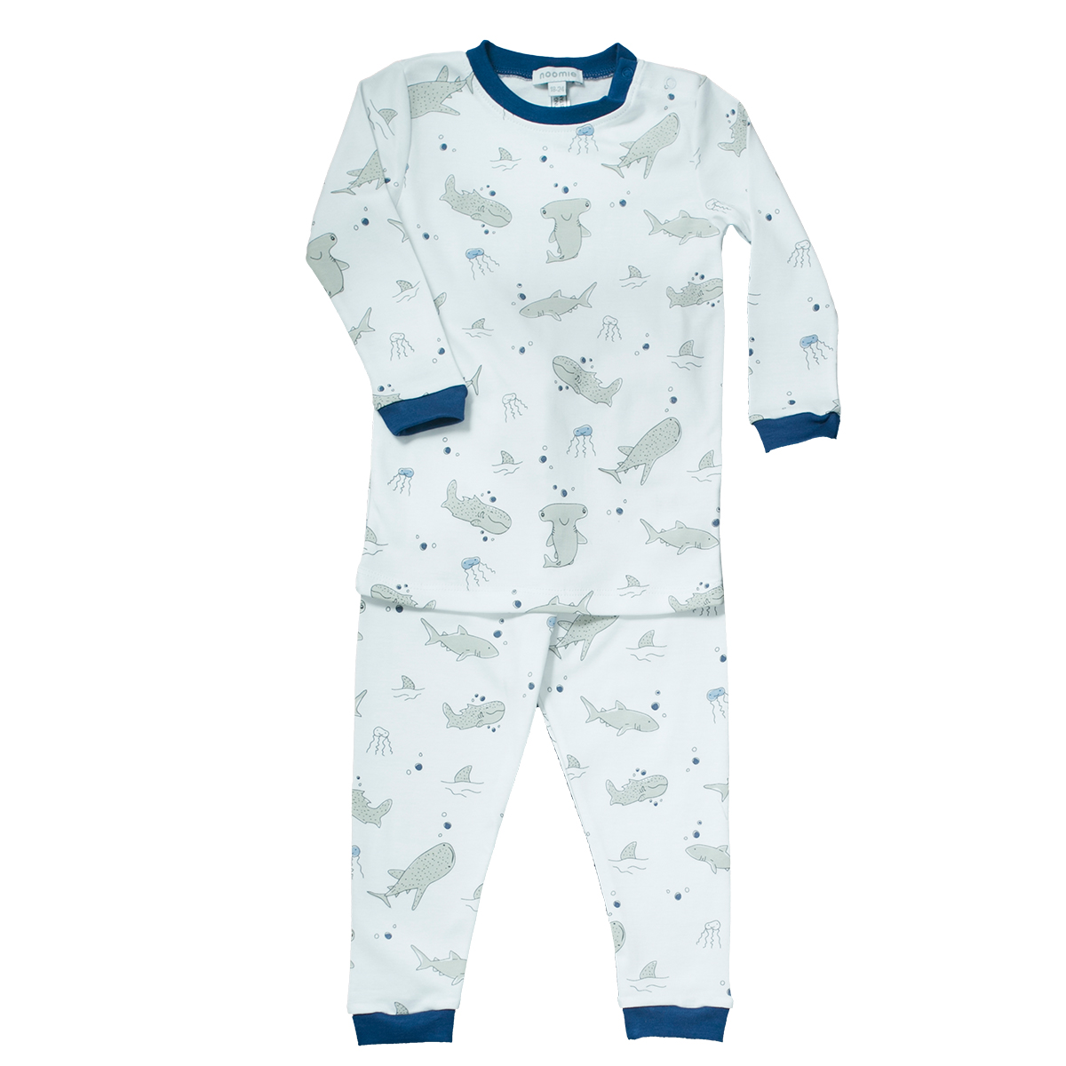 Baby Noomie Two Piece PJ - Sharks