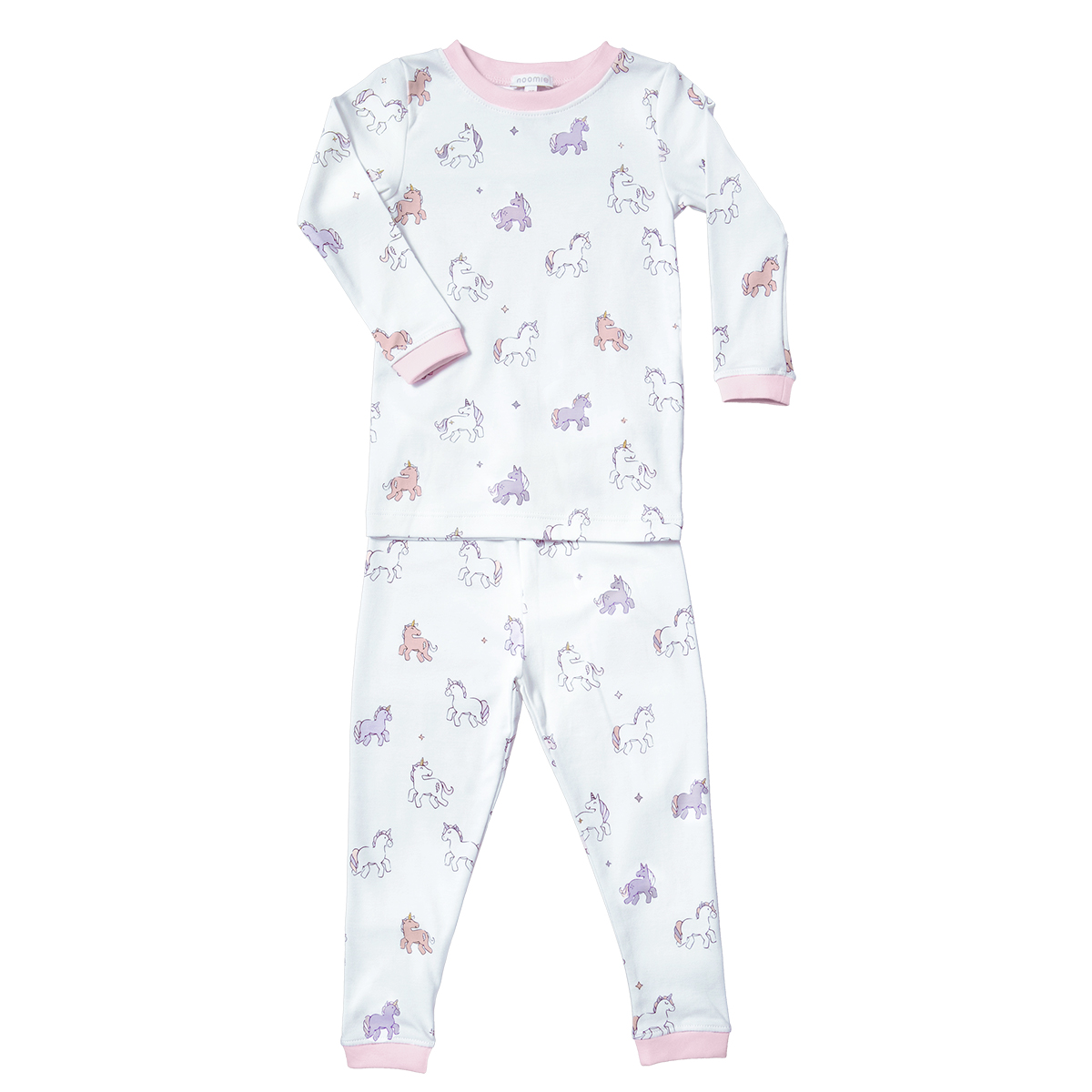 Baby Noomie Two Piece PJ- Unicorn