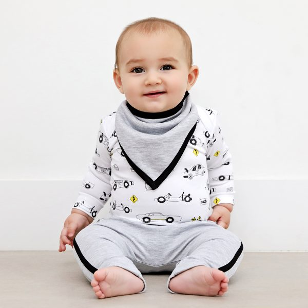 Baby Noomie Onesie/Pants Set – Cars