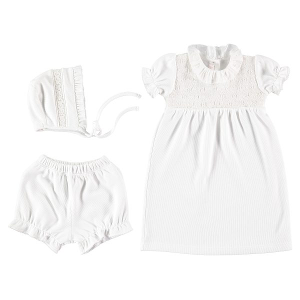 Bebe Bombom Baby Christening Dress Set