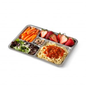 Planetbox Rover Tray with Food