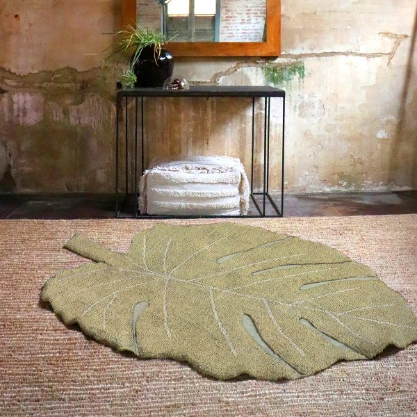 Lorena Canals Monstera Rug Natural