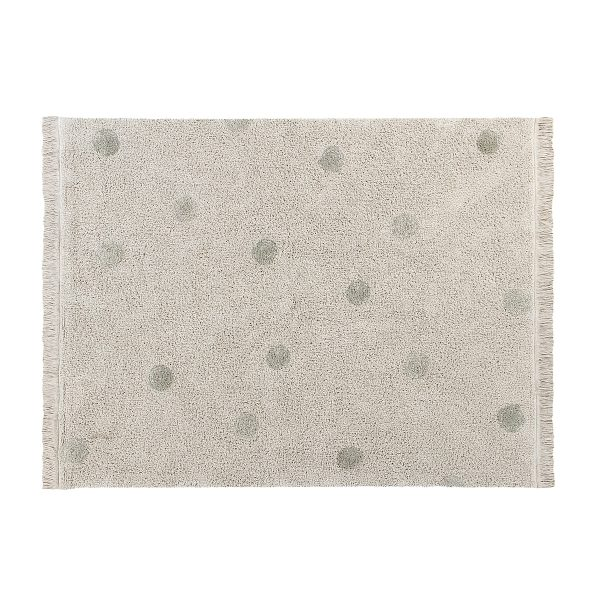 Lorena Canals Hippy Dots Rug Olive