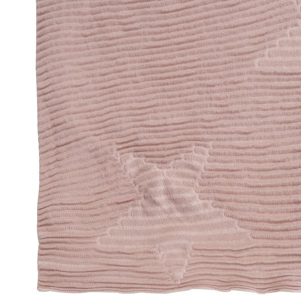 Lorena Canals Hippy Stars Knitted Baby Blanket Vintage Nude