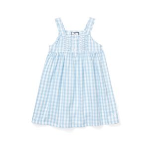 Petite Plume Kids Light Blue Charlotte Nightgown