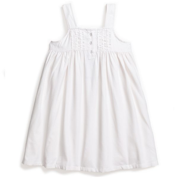 Petite Plume Charlotte Nightgown White