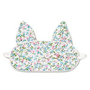 Petite Plume Floral Whisper Kitty Eye Mask