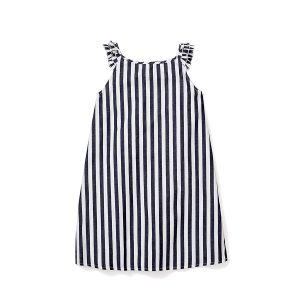 Petite Plume Navy Stripped Amelie Nightgown