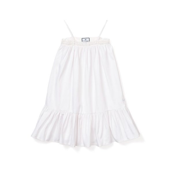 Petite Plume White Lily Night Gown