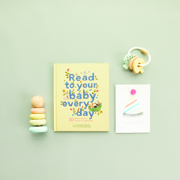 The Tot First Birthday Bundle - Pastel