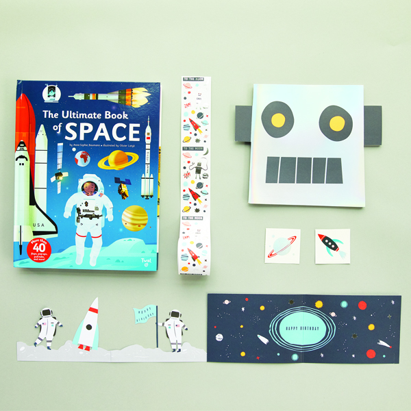 The Tot Birthday bundle - space
