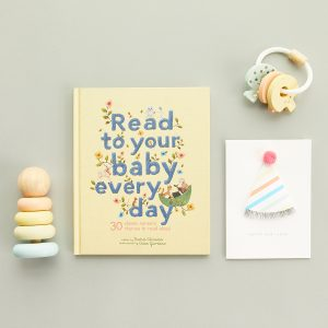 The Tot First Birthday Gift Set-Pastel